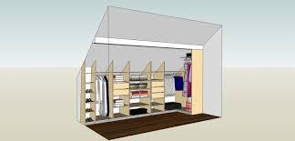 meuble pour chambre mansard dressing sous pente les combles collection et meuble pour chambre