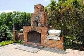 Brick Outdoor Fireplace Grill Fireplace Ideas