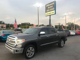 2014 Used Toyota Tundra CrewMax 5.7L FFV V8 6-Spd AT 1794 (Natl) At ...