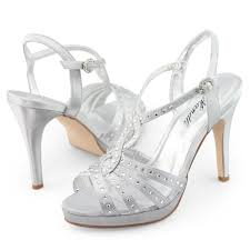 silver womens get dressed nighttime shoes trendy style