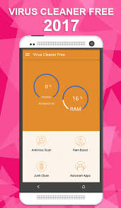Virus Cleaner Free 2017 for Android Free and software