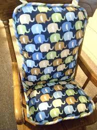 Rocking Chair Cushions Nursery Australia by Rocking Chair Slipcovers For Nursery Rocking Chair Cushions