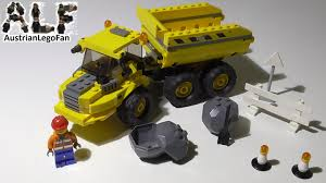 100 Lego City Dump Truck 7631 Kipper Speed Build Review YouTube