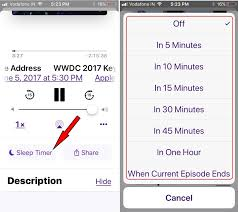 Get How to Set a Sleep Timer for Podcast on iPhone iOS 11 11 2