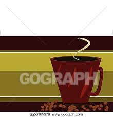 Red Coffee Cup And Beans
