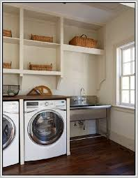 simpli home utility laundry sink with cabinet home design ideas