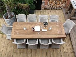 Image Of Teak Coffee Table Outdoor Set