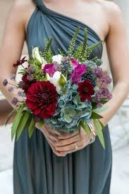 30 Fall Wedding Bouquets For Autumn Brides