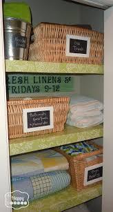 picturesque organized linen closet photos roselawnlutheran