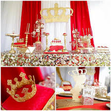 27 Baby Shower Ideas Red And Gold Baby Shower Royalty