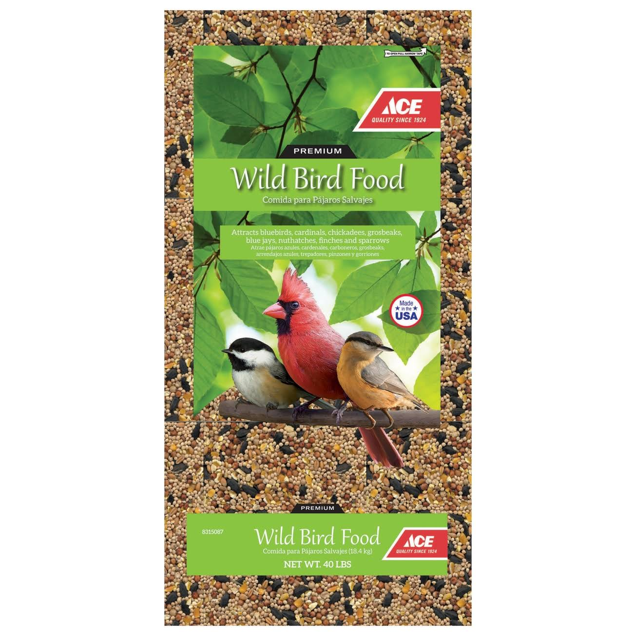 Ace 100507215 Wild Bird Food - 40lbs