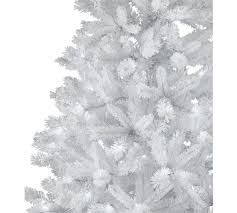 Pre Lit Slim Christmas Trees Argos by Buy Collection 7ft Pre Lit Christmas Tree White At Argos Co Uk