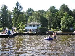 100 Mary Lake Ontario The Ice Palace Huntsville Canada Ort Sydney