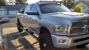LED Light Bar And Brackets For The Front Of My 2014 Dodge - Dodge ...