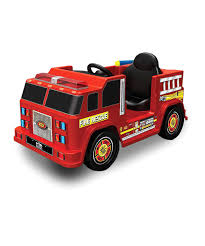 100 Kid Trax Fire Truck Battery Look What I Found On Zulily 6Volt RideOn Engine By