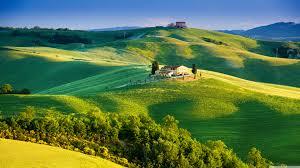 Beautiful Tuscany Landscape 4K HD Desktop Wallpaper For