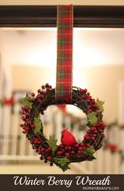Winterberry Christmas Tree by Easy Diy Winter Berry Wreath