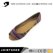 Supply New Modal Ladies Fashion Flat Shoes With Competitive Price