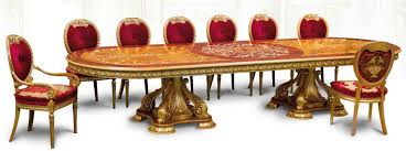 Dining Tables Luxury Handmade Furniture Empire Style Table