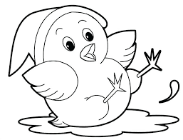 Cute Animals Coloring Pages For Kids Animal Printable Colouring