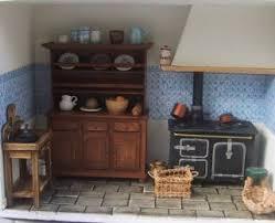 ancienne cuisine miniatures et maisons de poupees cuisine ancienne
