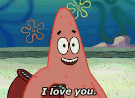 Iloveyou Spongebob GIF