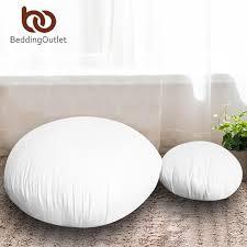 beddingoutlet runde kissen einsatz für auto sofa stuhl werfen kissen innere unten alternative boden sitzkissen kussens 45 cm