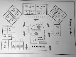 Layout of rooms Picture of Pacific Gardens Inn Pacific Grove