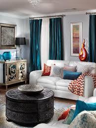 bathroom blue and orange living room blue white and orange living