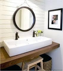 small bathroom sinksfor the boys bathroom trough style sinks when