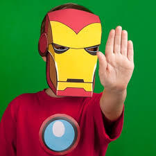 Iron Man Inspired Mask