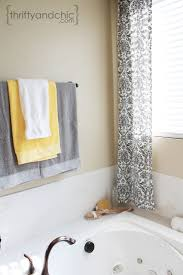 Small Bathroom Window Treatments by Curtains Gray Bathroom Window Curtains Designs 25 Best Ideas About