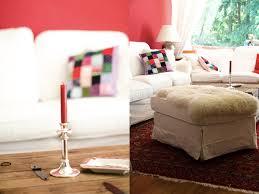 wandfarbe farbe rot kaminrot wohnzimmer landhaus
