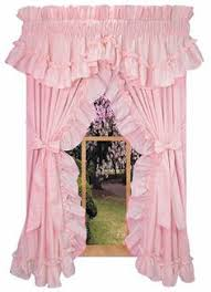 Pink And Purple Ruffle Curtains by Priscilla Curtains For My Sewing Room Ideas For My Fantasy