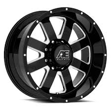 AE Exclusive! AE Hardrock - Series 5128 - Gloss Black & Milled ... Konig Centigram Wheels Matte Black With Machined Center Rims Amazoncom Truck Suv Automotive Street Offroad Ultra Motsports 174t Nomad Trailer Eagle Alloys Tires 023 Socal Custom Ae Exclusive Hardrock Series 5128 Gloss Milled Part Number R29670xp A1 Harley Fat Bob Screaming Vance Hines Pro Pipe What Makes American A Power Player In The Wheel Industry Alloy 219real 6