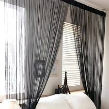 black sheer curtains teawing co