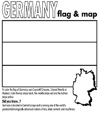 Use CrayolaR Crayons Colored Pencils Or Markers To Color The Flag Of Germany