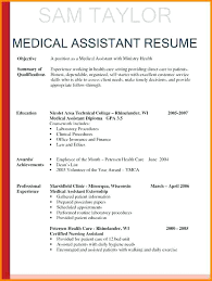 Best Of Cna Resume For Hospital Objectives Medical Assistant With No
