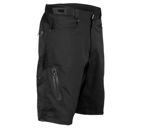 Zoic Men's Ether Cycling Shorts - Black, Large