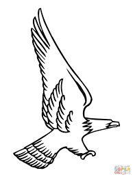 Click The Attacking Bald Eagle Coloring Pages To View Printable