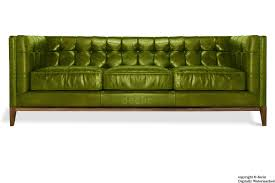 Beautiful Olive Green Leather Sofa 58 On With
