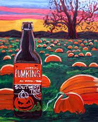 Brooklyn Pumpkin Ale Ratebeer by Year Of Beer Paintings U2013 Day 284 Beer Ale And Liquor