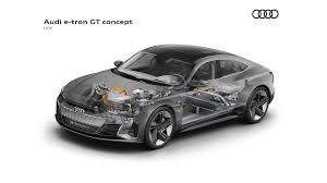 100 Porsche Truck Price Cutaway Of Audi Etron GT Comparison With Taycan
