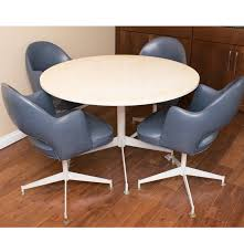 Chromcraft Dining Room Chairs by Vintage Chromcraft Kitchen Table And Chair Set Ebth