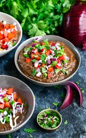 Instant Pot Black Bean Dip Is A Total Breeze To Throw Together No Cans Needed
