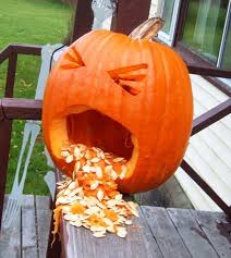 Vomiting Pumpkin Dip by Images Of Barfing Pumpkin Carving Ideas Halloween Ideas