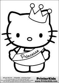 Hello Kitty Colring Sheetsyou Can Print