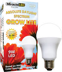 miracle led absolute daylight spectrum grow lite replaces up to