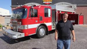 100 Fire Trucks Unlimited 1991 Pierce Dash HAZMAT For Sale Trucks YouTube