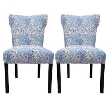 Blue Upholstered Dining Chairs | HomesFeed
